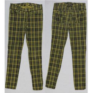 TRIPP NYC jeans 5 T-Back skinny plaid tartan punk